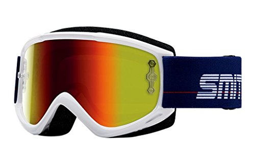 SMITH MX Goggle V1 Max Archive 1989 white Glas: red mirror