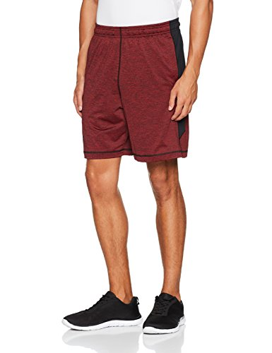 Under Armour, Ua Raid 8 Novelty Short, Pantaloncino, Uomo, Rosso (Red/Black/Black 602), M
