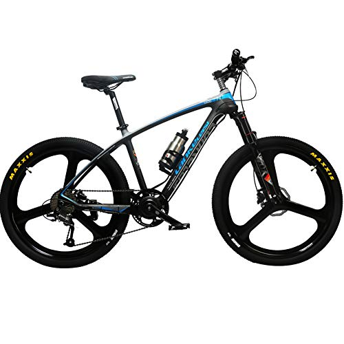 41uL8jg4QCL. SS500  - Cyrusher S600 Carbon Fiber Mountain Ebike 36V 250W Electric Bicycle 27 Speeds Hydraulic Disc Brakes Mens Bike with Lithium Battery