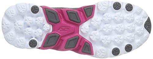 Skechers - GO Run 4, Scarpe da corsa Donna Grigio (Grau (CCHP))
