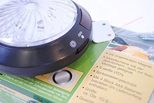 Profisparen ZELTLICHT MIT Magnet, batteriebetrieben Camping Lampe Universalbeleuchtung Outdoor Leuchtmittel Lampe Zelt Laternen für Fest Draußen Abenteuer Wandern