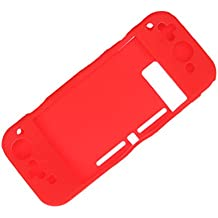 Street27 Anti-Slip Soft Silicone Case Silicone Cover Skin For Nintendo Switch Red