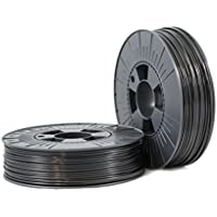 PLA 2,85mm black ca. RAL 9017 0,75kg - 3D Filament Supplies