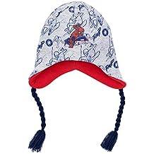 fab774af2874 Bonnet péruvien enfant garçon Spider-man Gris marine de 3 ...