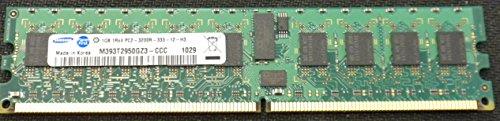2GB 2x 1GB Dell PowerEdge SC1420, 18002850memory-pc2-3200DDR2ECC Reg für Server nur -