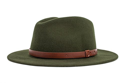 (Brixton Hat Messer Hat, Moss, L)