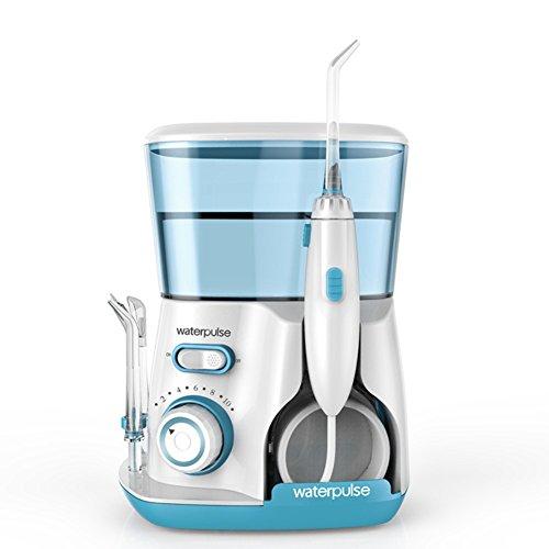 Weisy Irrigateur Oral Nettoyants Dents Professionnel Ménagers Set Jet Electrique 800ML Jet Dentaire Soin Oral