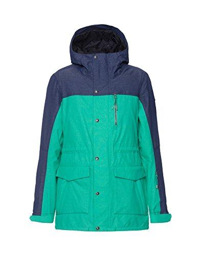Zimtstern Damen Snow Jacket Zwena Women Marine, M