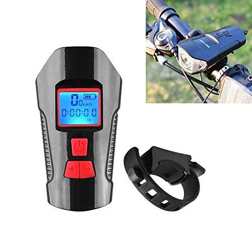 NSK E-Bike luz Delantera MTB LLP 350LM Carga USB Faros