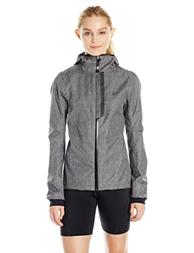 Craft Damen Ride Rain Jacket W Regenjacke, Dark Grey, L