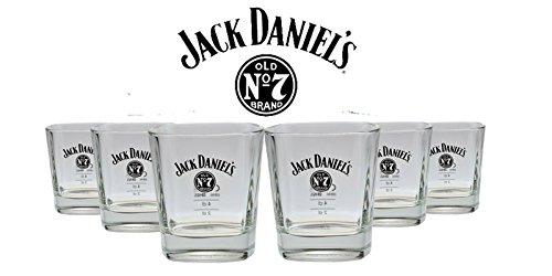 6er Pack Jack Daniels Whiskey Glas - Tumbler Nr. 3 - 10{81b8f1713f0aa5915d9b6709c5b58bd53df9b70735d5dff01c5eb210b488ce3a} Rabatt