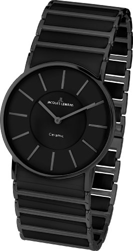 Jacques Lemans York 1-1649B Ladies Ceramic Bracelet Watch