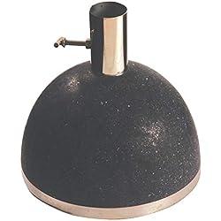 Esschert Design Granito Support pour Parasol 11,5kg Ø env. 25 cm Ø intérieur 3,6cm Noir