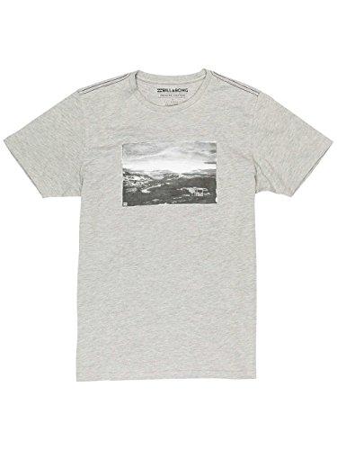 Billabong Herren Jt Tees Ss Shirt und Hemd Grey Heather