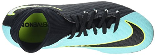 Nike Hypervenom Phelon 3 Dynamic Fit Fg, Scarpe da Calcio Donna Blu (Light Aqua/white-black-vert Volt)
