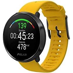 PolarIgnite - Montre fitness Multisports avec Mesure de la Fréquence Cardiaque au Poignet, Guide d'Entraînement, GPS, Etanche - Unisexe