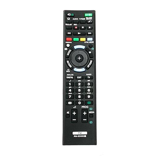 Neu RM-ED053 Sub RM-ED052 RM-ED050 RM-ED060 Ersatz IR-Fernbedienung f¨¹r SONY LED-LCD-HDTV KDL40BX420 KDL40BX421 KDL46BX420 KDL46BX421 KDL55BX520 KDL32R300B KDL32R330B KDL32R400 KDL32R400A KDL32R420B (Remote-sub Control)