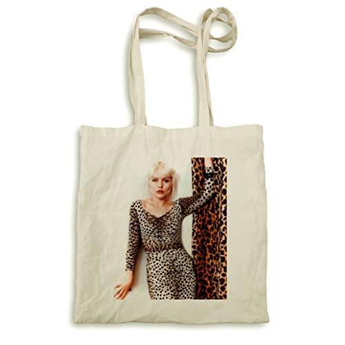 Debbie Harry robe sac à main imprimé léopard naturel