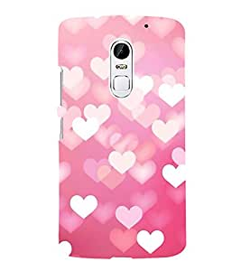 Fuson Designer Back Case Cover for Lenovo Vibe X3 (Love Love Hearts Infactuation Togather In Relationship)