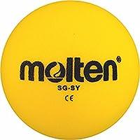 10x Molten–Pelota de gomaespuma SG de VY SG de SY SG de Hy suave Niños Kids Balón + RS de Sports Bolígrafo, amarillo, 170g, Ø 180 mm
