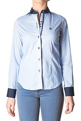 di-prego-camisa-de-mujer-manga-larga-estampada-con-cuello-y-punos-azul-marino-punos-reversible-color