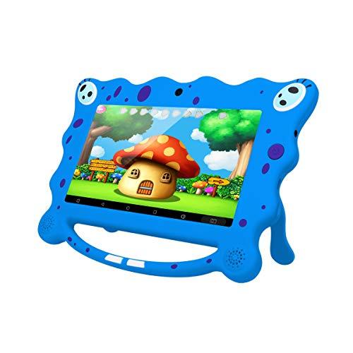 Ainol Tablette Enfant Pas Cher, 7C08 - 7', Android 7.1, 1 Go + 8 Go Avant: 0,3 M; Arrière: 2.0 M+0.3MP Caméras, 500mah Batterie - Blu