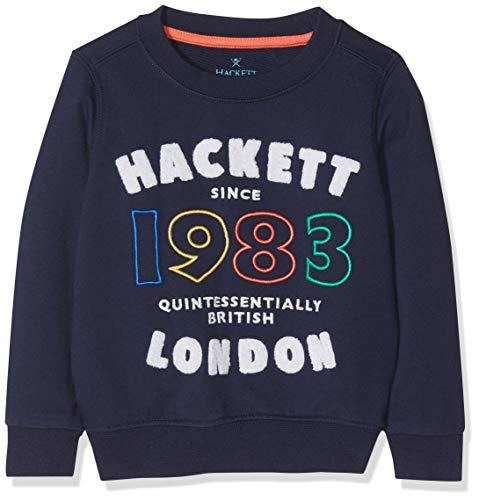 Hackett Hkt 1983 Swt Sudadera, Azul (Navy 595), 92 (Talla del Fabrican