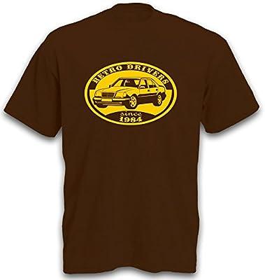 T-Shirt w124 230E 280E Limosine Youngtimer Auto Shirt Gr. S-XXL von Signs & Fiction - Outdoor Shop
