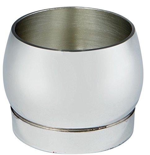 I Luv LTD Pewter Whisky Shot Glass Barrel Shape in Plain Design Ideal for Engraving -