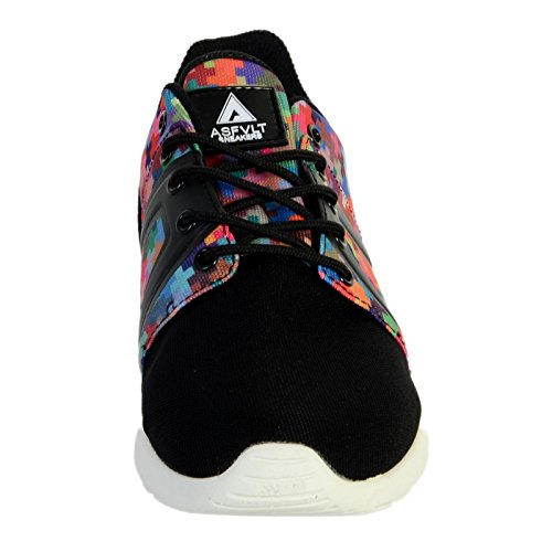 Basket Asfvlt Super Tech Pixel Multicolor Noir