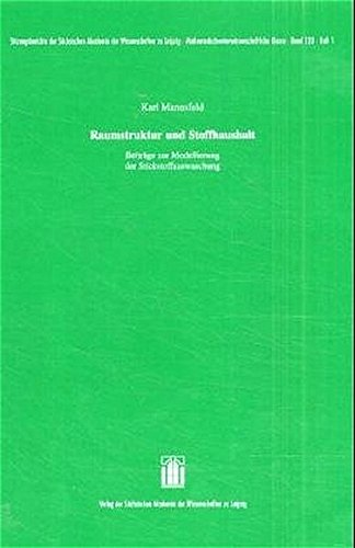 Raumstruktur und Stoffhaushalt: Beiträge zur Modellierung der Stickstoffauswaschung