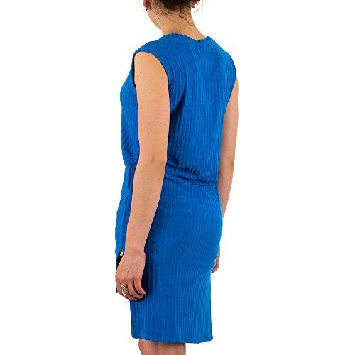 Ital-Design - Chemisier - Femme Bleu - Bleu