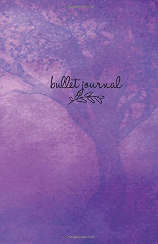 Bullet Journal: Purple Tree Cover 5,5