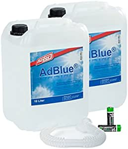 Adblue 2 X 10 Liter Kanister Von Hoyer Mit Ausgießer Für Audi Vw Mercedes 2 Stück Musterbatterien Mignon Aa Cardiocell Plus Batterien Erstausrüster Qualität Auto