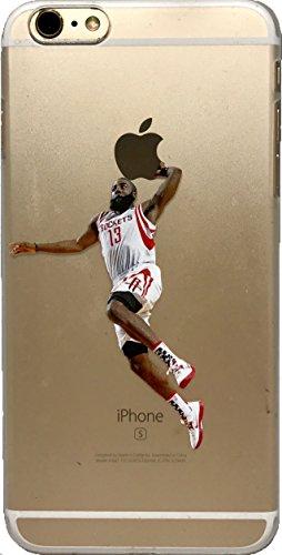 echc Favorite Basketball Player Hard Kunststoff iPhone Fall, iPhone 7 Plus, Harden Dunk (Basketball Iphone Fall)