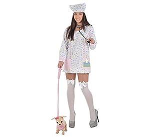 Creaciones Llopis - Disfraz de veterinaria para adulto de 10/12 años, talla única