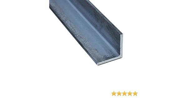 Winkelstahl Winkelprofil Stahl gleichschenklig L/änge 500mm 50x50x6mm rundkantig