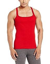 Force GoWear Mens Cotton Vest (8902889500270_MFCF-001_Large_Red)