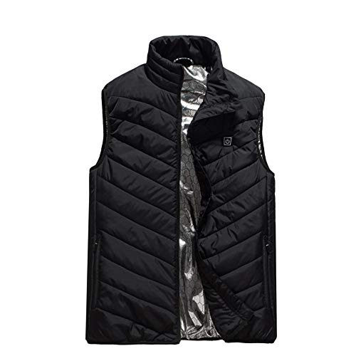 DZX Electric Vest/Heating Vest/Electric Clothes,Washable With USB Cable – For Camping,Hiking,Ski...