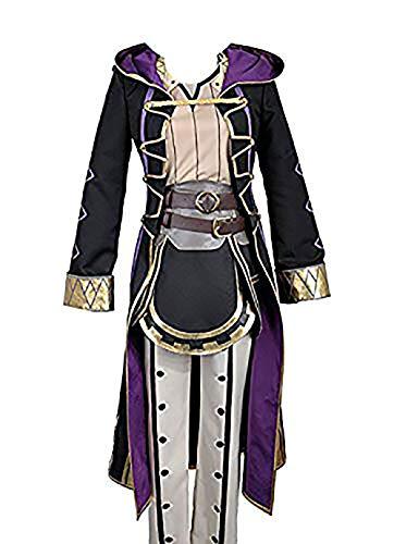 (Stecker Avatar) Fire Emblem Awakening Robin rufure copslay Kostüm jeder Größe, Collegejacke (Fire Emblem Awakening Cosplay Kostüm)