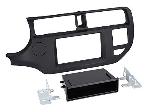 2-DIN marco adaptador vacío bolsillo Kia Rio 09/2011>