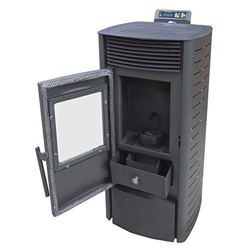 preisvergleich nemaxx p12 pelletofen pelletkamin pelletkaminofen 12 willbilliger. Black Bedroom Furniture Sets. Home Design Ideas