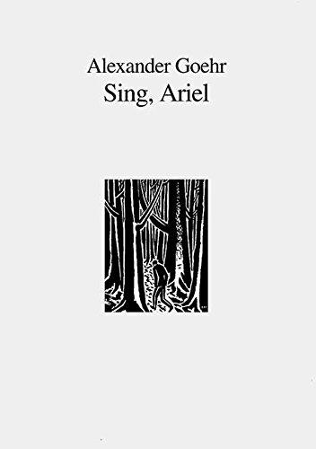 Sing, Ariel: op. 51. Mezzo-Sopran, 2 Soprane und 5 Spieler. Partitur.