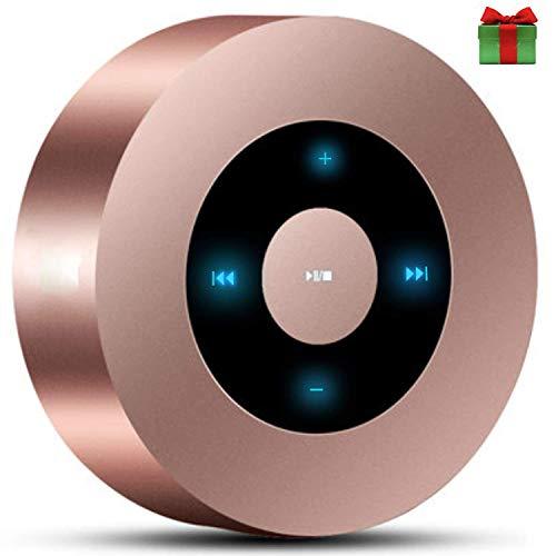 YANGSANJIN Wireless Bluetooth Lautsprecher,Mini Bluetooth Lautsprecher Leistungsstarker Sound Starkem Sound und 20 Meter Bluetooth Reichweite, FM Radio und Starkem Bass für erstklassigen Klang
