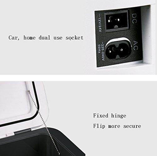 41uLRrEmSEL - Refrigerador Portátil 26L Mini Cooler Nevera Congelador Medicamento Insulina Vaccine Refrigerador Calentador TG Car Home Travel Camping Picnic