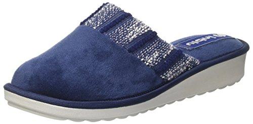 In Blu Inblu Ci000068, Chaussons Pour Femme - Bleu - Bleu, 38 EU Bleu