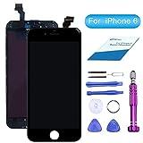 QI-EU L'écran LCD Assemblée pour iPhone 6 Noir Remplacement Kit de Réparation avec Outils