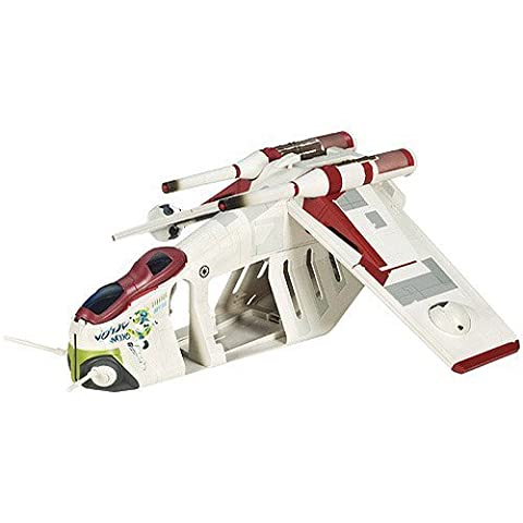 Star Wars Clone Wars Animated Series Exclusive Vehicle Republic Gunship by Star Wars