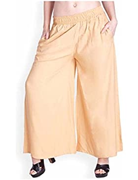 Indian Handicrfats Export Amasree Relaxed Women Beige Trousers