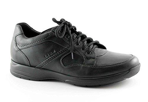 LION 8461 nero scarpe uomo confort antistatiche pelle 47